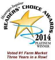 Reader's Choice Award - Platinum Winner