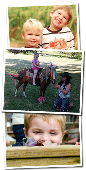 Pony Rides and More at Trunnell's