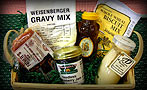 Jam, Weisenberger Gravy Mix, Biscuit Mix, Honey, Country Ham