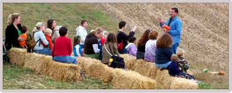 Hands on educational farm tours for schools and groups - Utica, Kentucky!