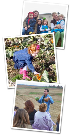 EXPERIENCE THE HARVEST at Trunnell's Farm Market with a Fall Farm Tour