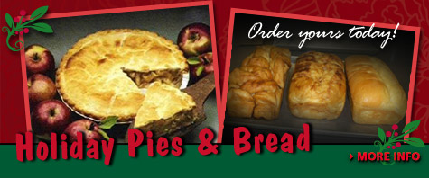 Order Your Holiday Pies & Bread