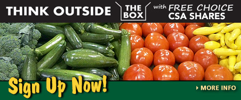 Become a CSA Member - Receive disounts on locally-grown produce and more