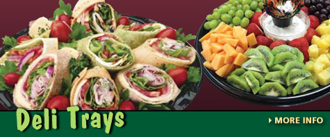New! Deli Trays at Trunnell's Farm Market