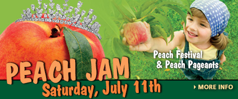 Peach Jam and Peach Pageatns - July 11, 2015