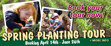 Book spring school tours now - April 10th through May 15th, 2013