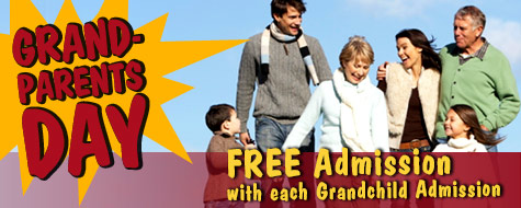 Grandparents FREE - September 9 and 10, 2017