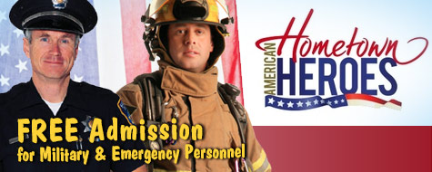 Military and Emergency Personnel FREE - September 16 and 17, 2017