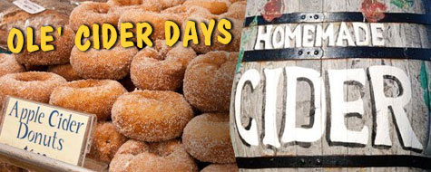 Ole' Cider Days - September 23-24, 2017