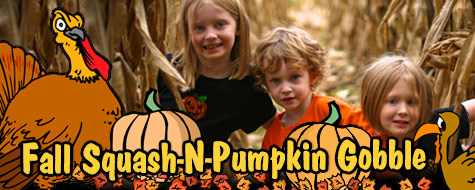 Fall Squash-N-Pumpkin Gobble Festival - October 21-22, 2017 (Owensboro, KY)